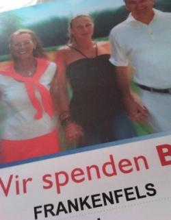 Blutspenden Frankenfels Plakat