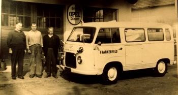 Erstes Rettungsauto1961