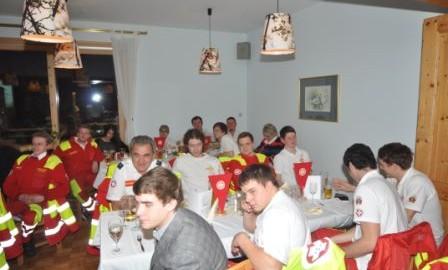 Jahresabschlussfeier 2012 Samariterbund Frankenfels