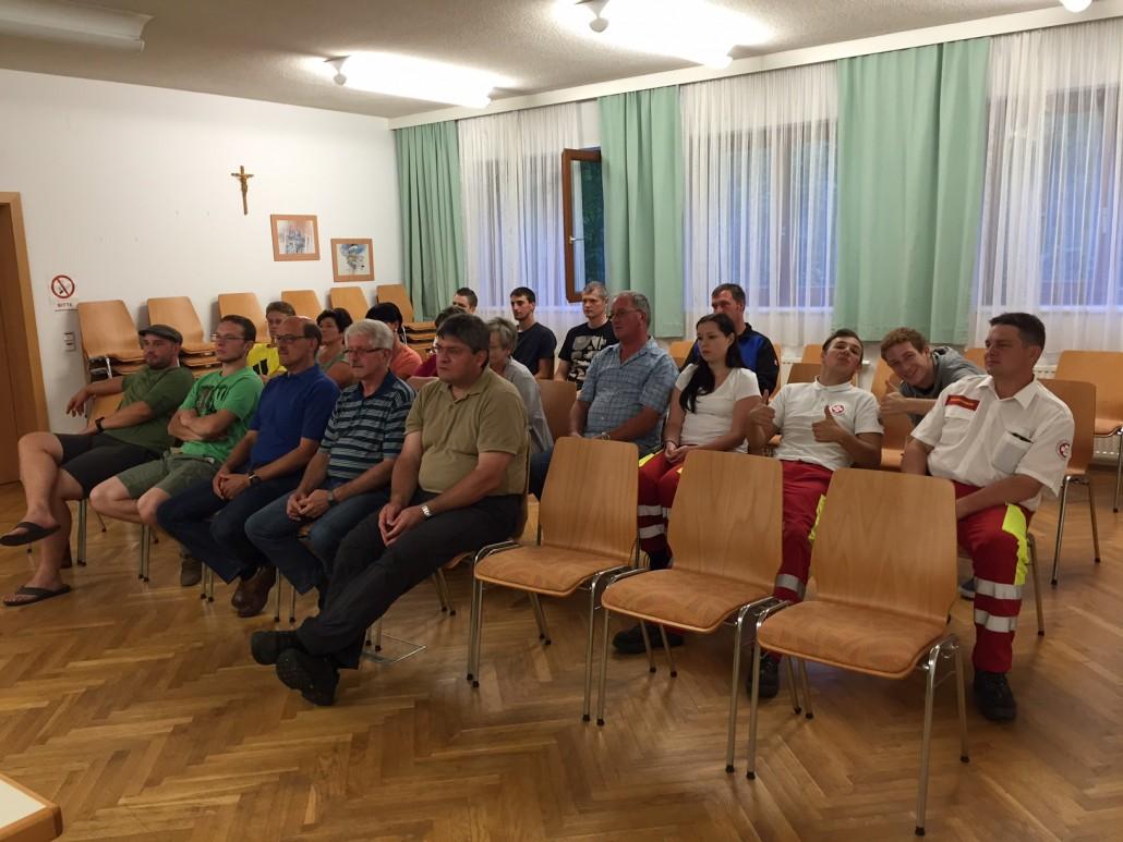 Mitgliederversammlung 2016 Teilnehmer