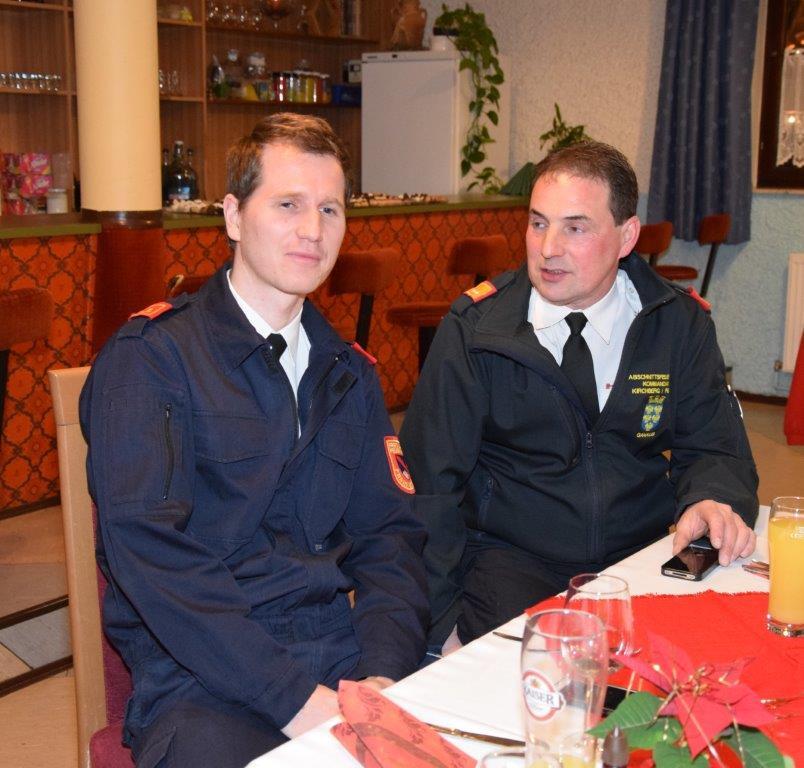 HBI Thomas Wutzl & Bgm. Stv. BR Andreas Ganaus