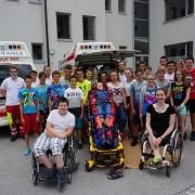 NMS Besuch ASBÖ Frankenfels 2017 Gruppenfoto