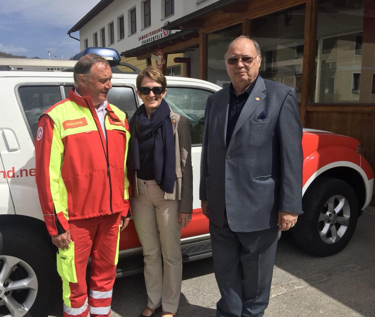 Otto Pendl & Ruth Gabriel vom LV NÖ zu Gast in Frankenfels.