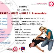 Erste Hilfe Kurs Frankenfels 2019