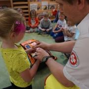 Rettung im Kindergarten