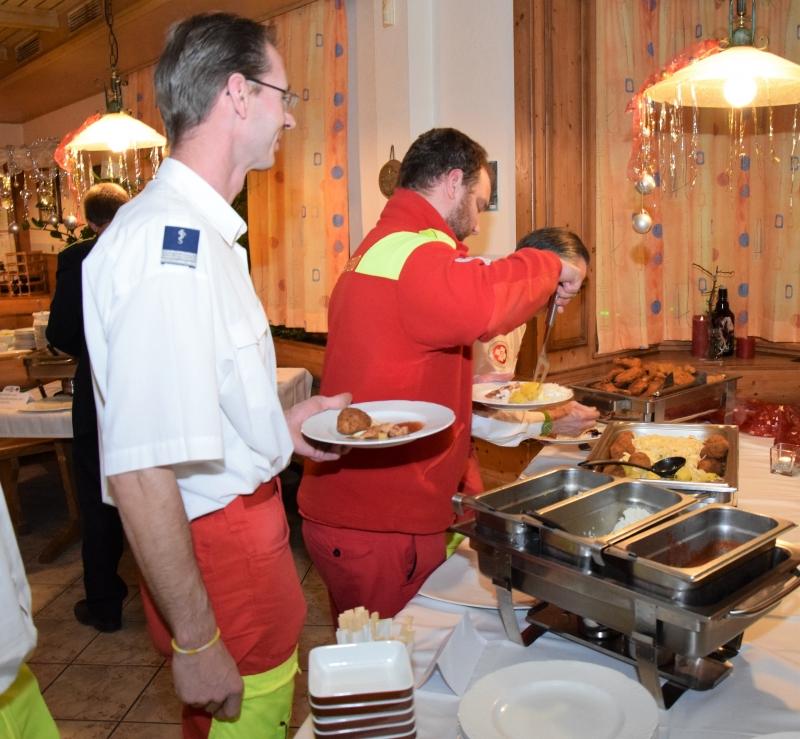 Buffet Weihnachtsfeier