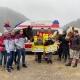Spendenüberage Voltigiergruppe und Fischbachgraben 2020 an ASBÖ Frankenfels
